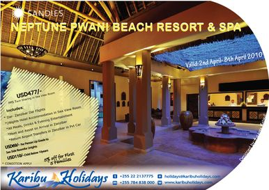 Zanzibar Holiday offers