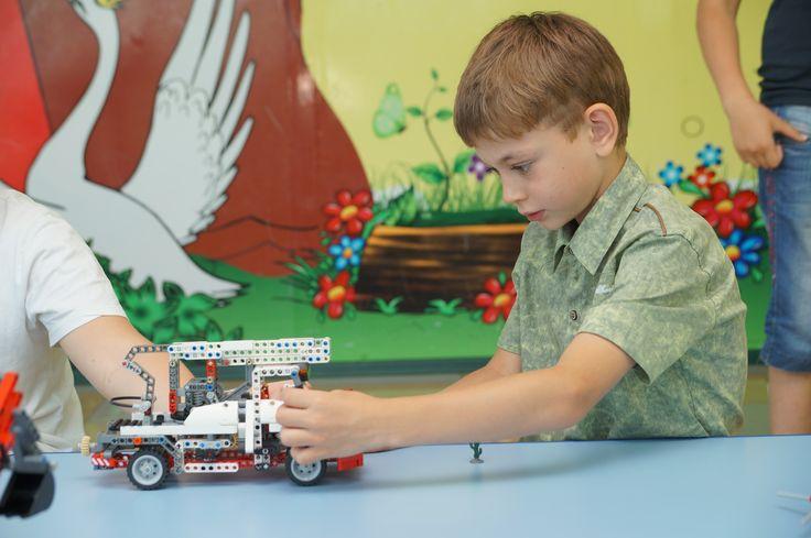 Лего Техник на занятиях и в играх для детей 7-10 лет