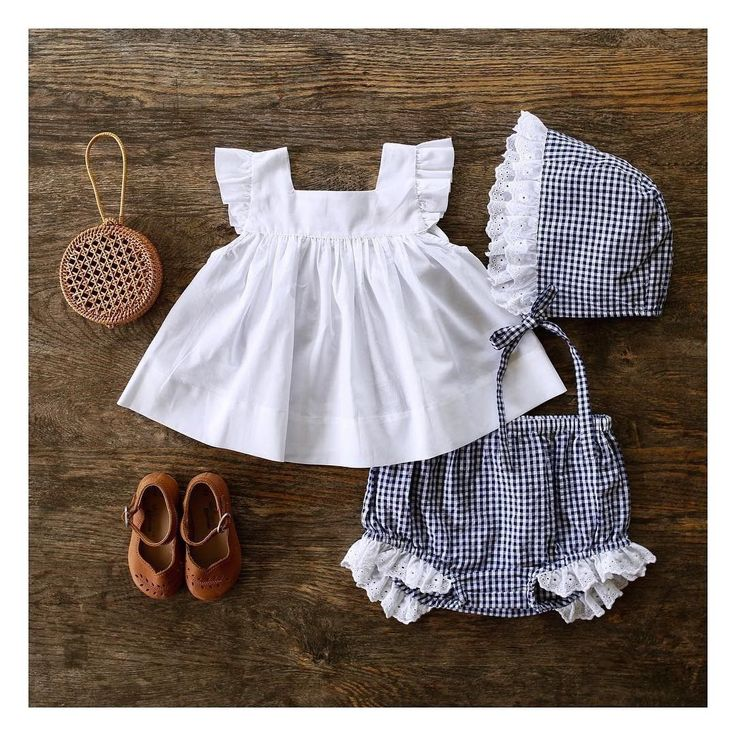 US Summer Newborn Baby Girl Clothes Princess Tops Dress+Shorts Outfits Set 0-24M – baby outfit