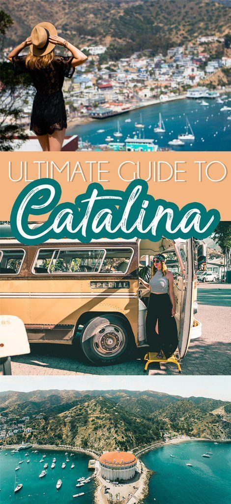 Take a pause in your coastal California road trip to visit Catalina Island off the coast of Southern California. You'll discover lots to do, eat, and see not to mention interesting history and the hot spot for celebrities in the Hollywood glam days!