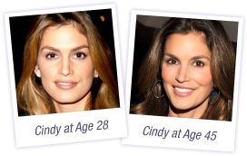Meaningful Beauty by Cindy Crawford. I swear by this product...the trick is finding the right combination of products that agree with your skin but once you find it you will notice it for sure. I recently went back home and so many people who haven't seen me in a long time commented on how I never age. Made me feel like a million bucks. Best skin care products ever!