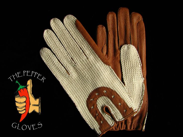 Special unlined women equitation gloves - leather and crochet - sizes 7 and 8 - pinned by pin4etsy.com