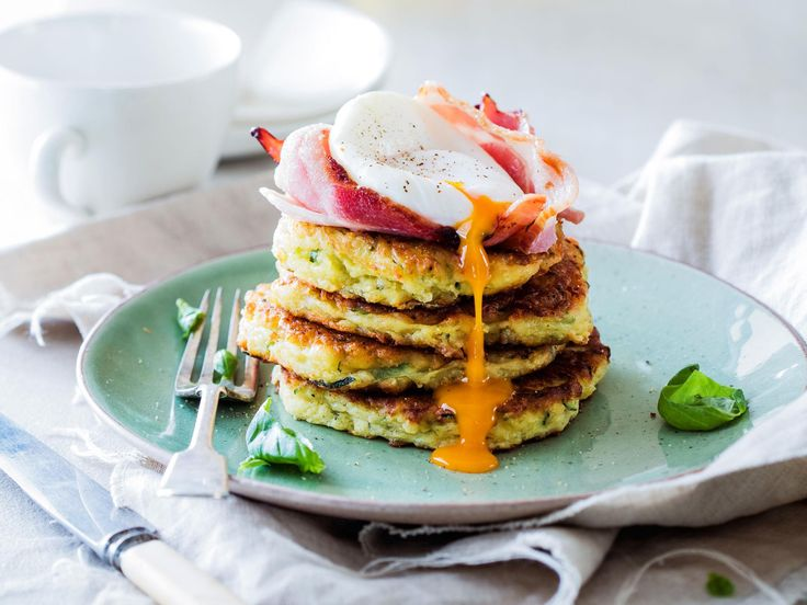Make the most of summer's bounty of courgettes with this cheesy courgette fritter recipe. Quick, easy and delicious, these fritters become a light meal when topped with a poached egg and bacon
