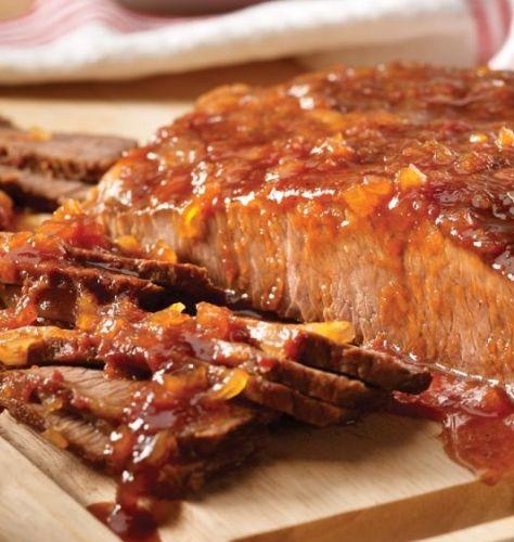 Dr. Pepper Barbecued Beef Brisket