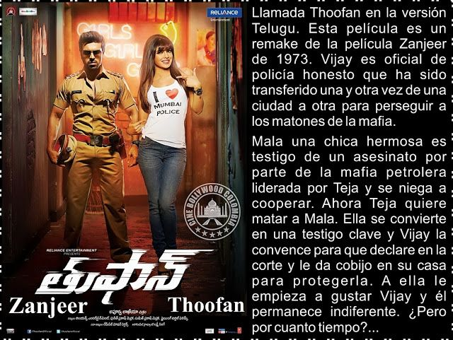 Cine Bollywood Colombia: Thoofan