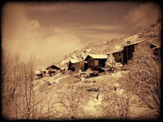 Villarabout, ancient Savoie hameau