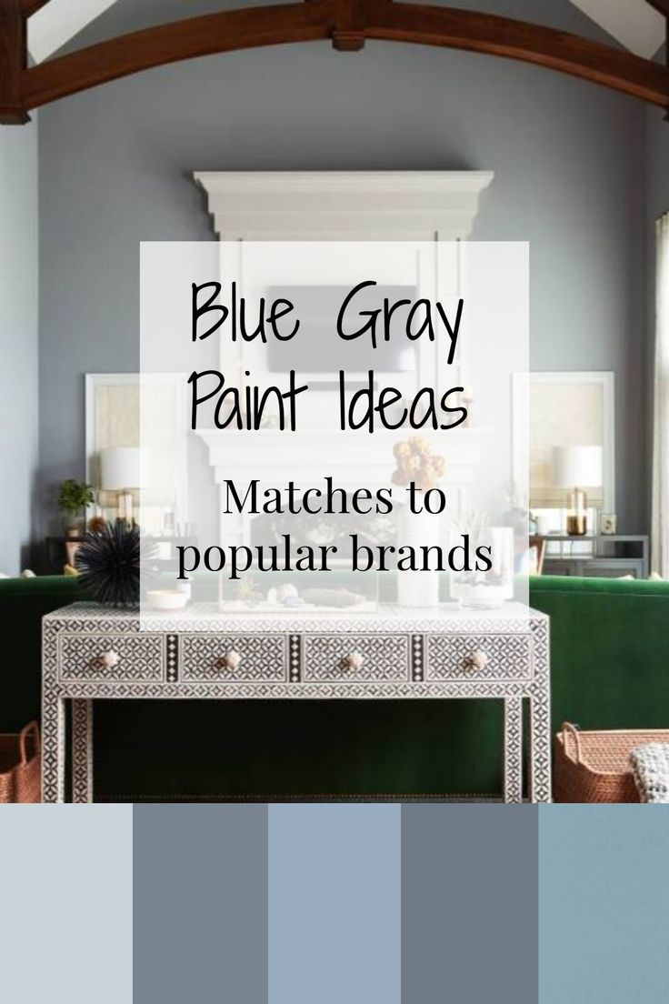 Home Decor Discovery And Shopping Grey Paint Living Room Blue Grey Living Room Living Room Paint