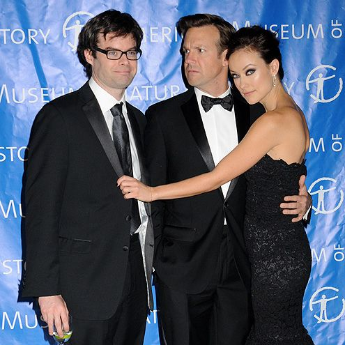 Bill Hader, Jason Sudeikis, Olivia Wilde...LOL!