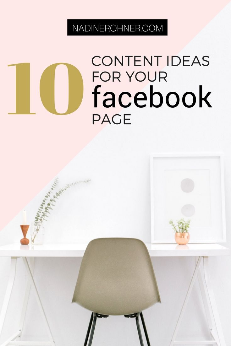 No idea what to post on FB? Here are 10 ideas and a free checklist