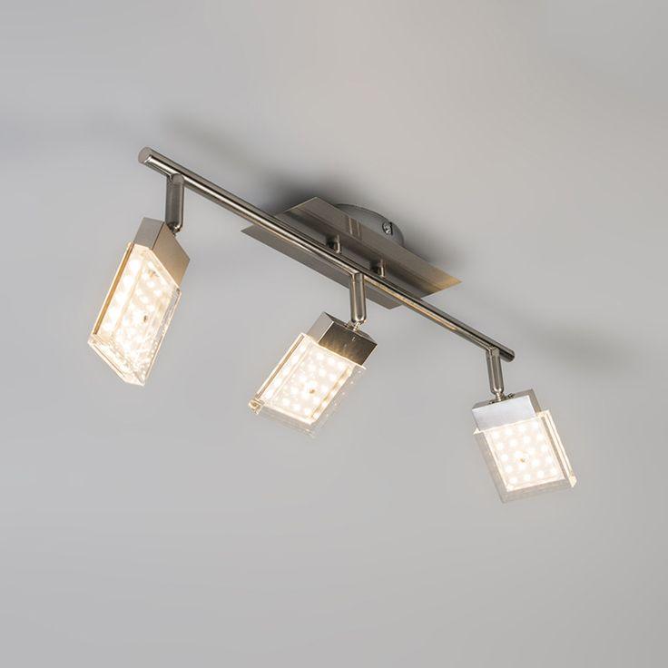Spot Robo 3 LED Stahl Moderner Materialwahl Kombiniert Mit Ebenso Modernen Spezifikationen Das Elegante