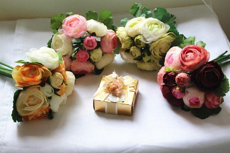 Silk/Simulation/Artificial Flower Camellia Romantic Wedding/Bridal Bouquet from Dasanxia,$4.72 | DHgate.com