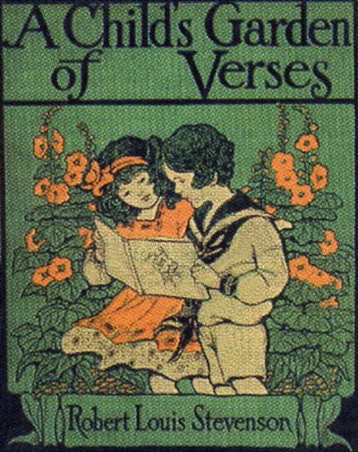 A Child's Garden of Verses Book CoverFavorite Childhood, Child Gardens Of Vers, Louis Stevenson, Verses Book, Robert Louis, Childhood Book, Book Covers, Children Gardens, Children Book
