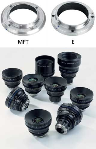 All about the Carl Zeiss Compact Primes CP.2 lenses with interchangeable mount
