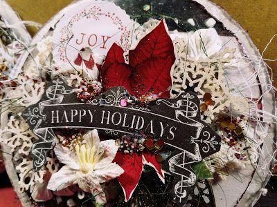 Scrapklub: 2017 november  Karácsonyi képeslapok Réti Virággal