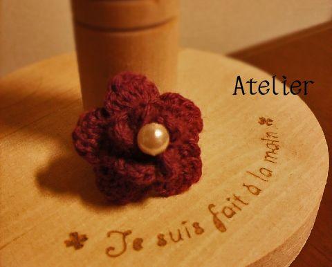お花モチーフの作り方|編み物|編み物・手芸・ソーイング|アトリエ