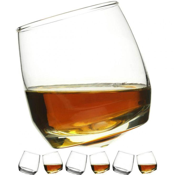 Rocking Whiskyglazen, set van 6 stuks voor 14,95