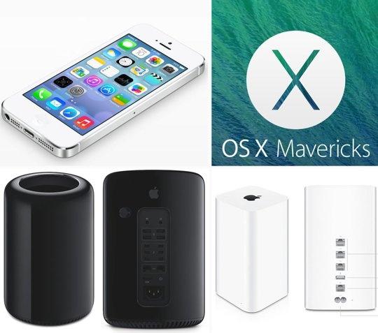 Apple Unveils iOS 7, New Mac Pro, OS Mavericks, MacBook Air, Airport Extreme, and iTunes Radio WWDC 2013