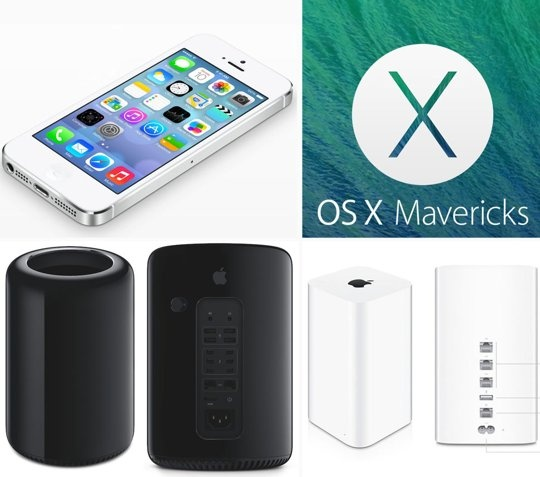 Apple Unveils iOS 7, New Mac Pro, OS Mavericks, MacBook Air, Airport Extreme, and iTunes Radio WWDC 2013