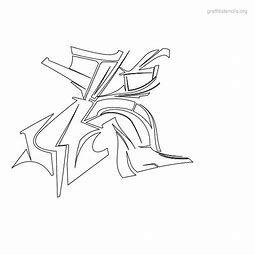 Image result for Graffiti Alphabet Printables   – Illumination and ART