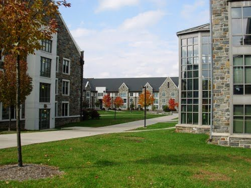 West campus at Villanova University.