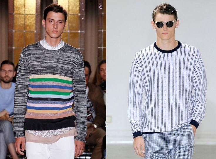 Мужской трикотаж 2015: весна лето, джемперы, футболки, свитеры | Мужской Журнал Мод