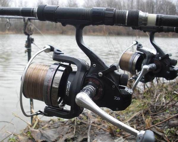 Carping with a pair of Daiwa Windcast