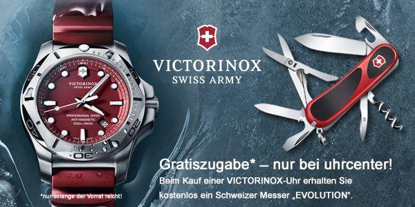 """Nur bei uhrcenter erhalten Sie beim Kauf einer Victorinox Armbanduhr das Taschenmesser """"Evolution"""" kostenlos dazu! Aktion gilt nur solange der Vorrat reicht. Hier geht es zur Victorinox Kollektion:  https://www.uhrcenter.de/uhren/victorinox/ #Victorinox #uhrcenter #Uhr #Armbanduhr #exklusiv #Taschenmesser #SwissMade #watch #Fashion #Outdoor #Lifestyle #Accessoire #xmas #Geschenkidee #Tipoftheday #Picoftheday #Qualität"""