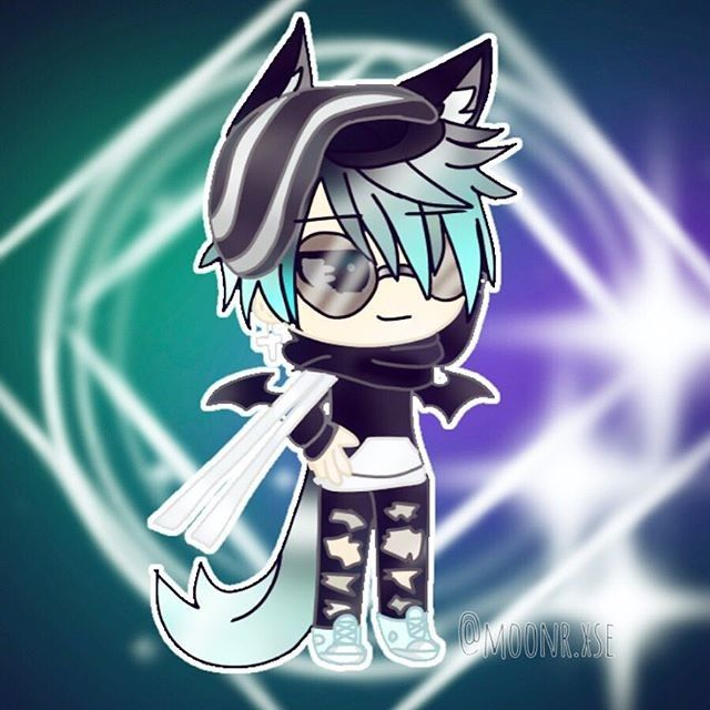 Pin By Roberto Varas Alindado On Dibujos Anime Wolf Girl Cute Anime Chibi Cute Drawings