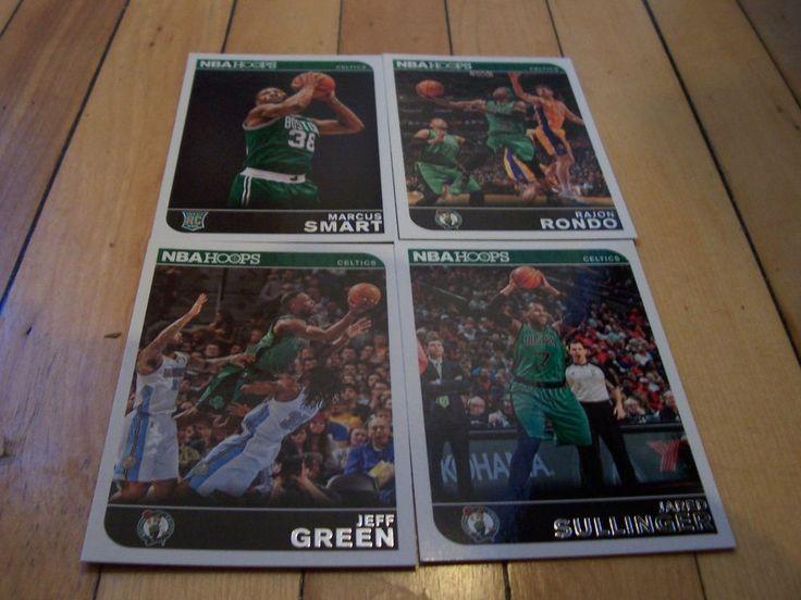 MARCUS SMART JARED SULLINGER JEFF GREEN RAJON RONDO 2014-15 Hoops Celtics Lot