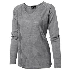 ladies lightweight golf sweater with tonal diamond design (last one - small) | #golf4her #sale #crossgolf