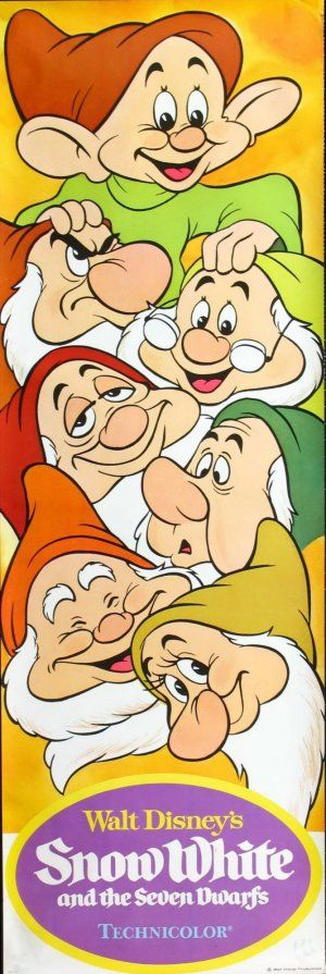 Dopey, Grumpy, Happy, Sleeply, Sneezy, Doc and Bashful