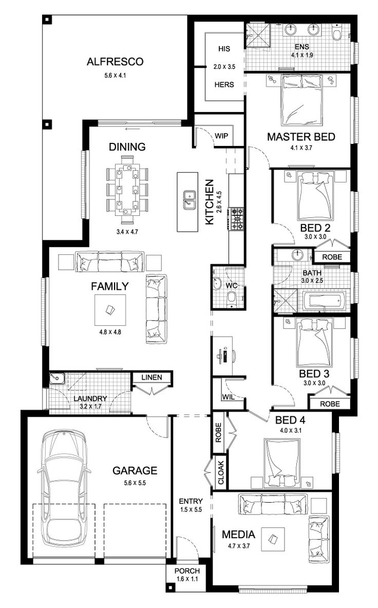 New Home Construction Plans 184 best house - plans images on pinterest | house floor plans