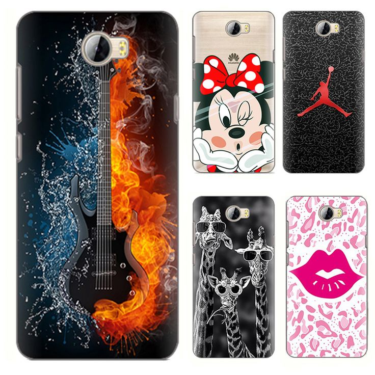 Cartoon Animal painted Case for Huawei Y5ii case Huawei Y5 ii cases Soft Tpu Phone Case Back Cover Fundas 2016 coque shell y 5