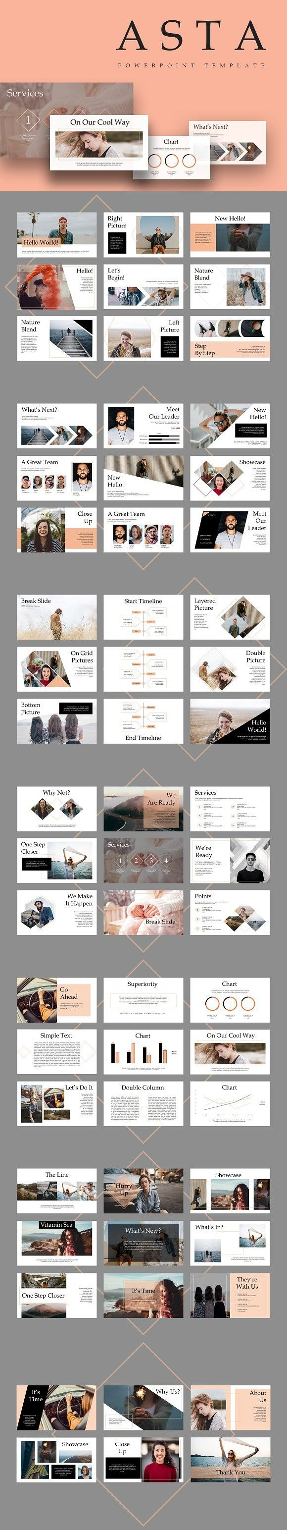 ASTA Powerpoint Template. Presentation Templates