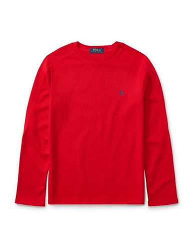 RALPH LAUREN CHILDRENSWEARWaffle-Knit T-Shirt