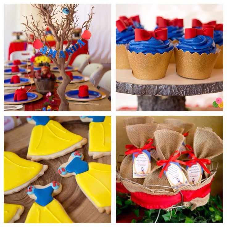 Planning a princess party? Check out this Snow White birthday party on Kara's Party Ideas!