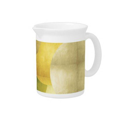 abstract tropical fruit drink pitcher