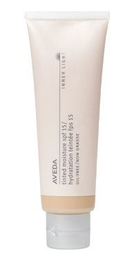 the best tinted moisturizer i've found. great for acne-prone skin and sensitive skin  Aveda Aveda Inner-Light Mineral Tinted Moisture SPF15:
