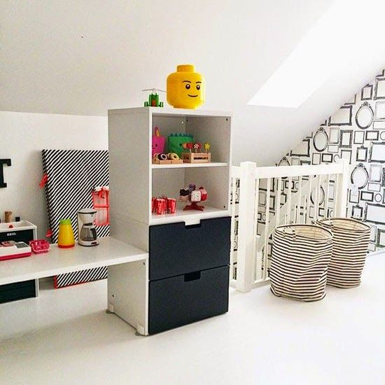 mommo design: HACK AND PLAY Stuva kitchen island