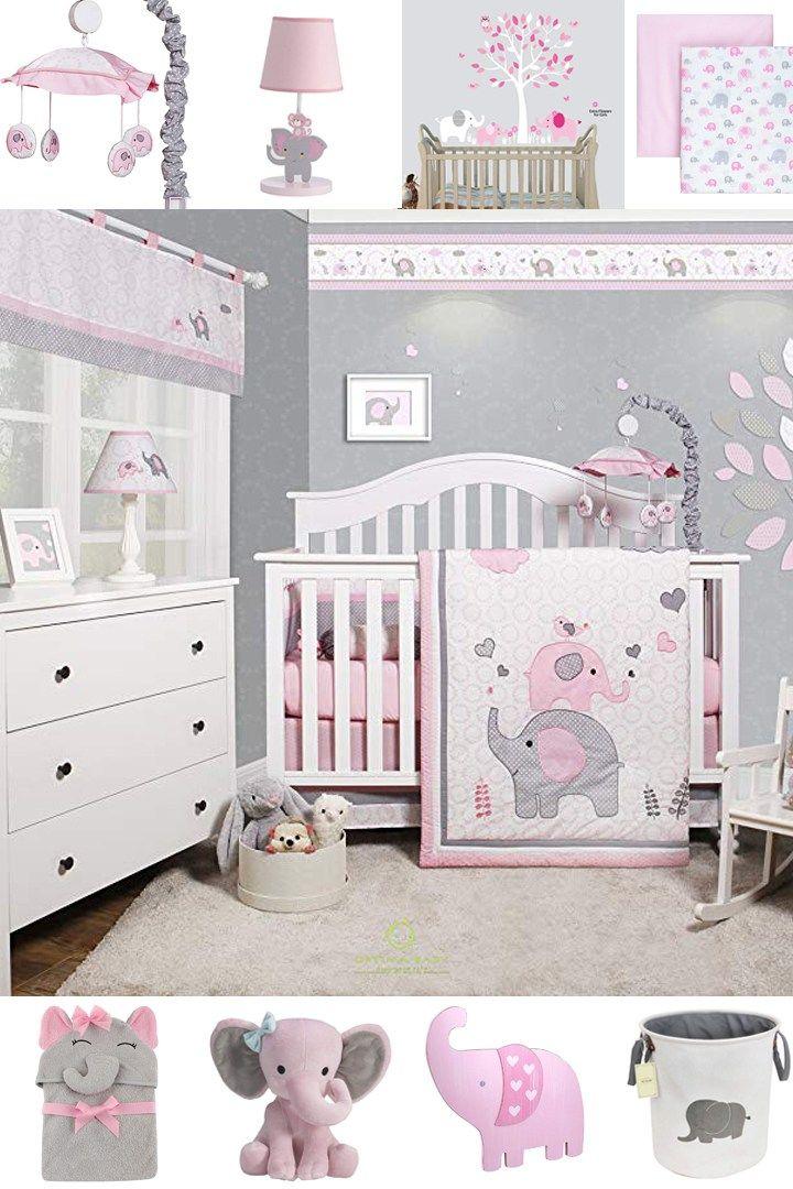 Pink Elephant Nursery Ideas Animal