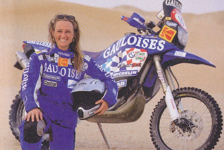 Andrea Meyer BMW F 650 RR Dakar 2001