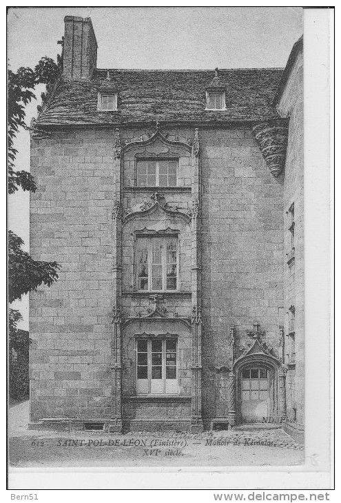 """St-Pol de Léon,  manoir de Keroulaz.  Brittany (See the famous 'gwerz': """"L'Héritière de Keroulaz"""")"""