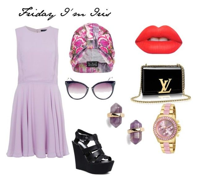 """Color of the day/ Iris"" by cata-caicedo on Polyvore"