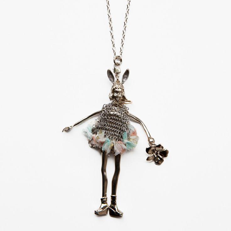 Servane Gaxotte Large Couture Bunny Ear Doll :: Bird Boutique :: shopbirdboutique.com