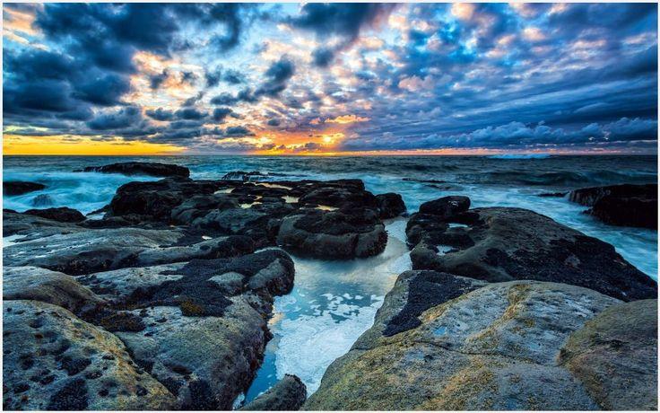Rock Beach Landscape Wallpaper | rock beach landscape wallpaper 1080p, rock beach landscape wallpaper desktop, rock beach landscape wallpaper hd, rock beach landscape wallpaper iphone