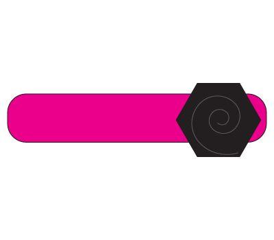 headband: hot pink/black flower