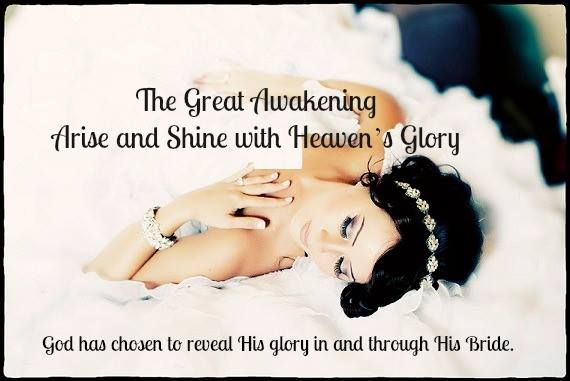 """Sleeping Beauty"" is about to be awakened!   Isaiah 60:1-2 (NIV)"