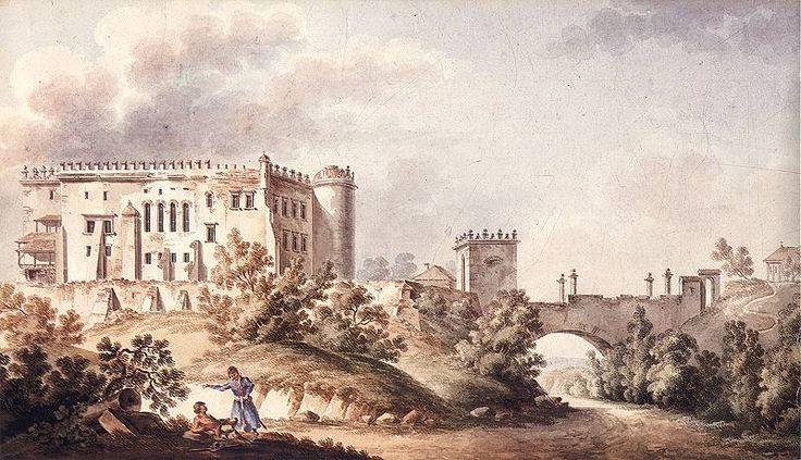 Zamek w Ossolinie by Vogel - Zamek w Ossolinie – Wikipedia, wolna encyklopedia