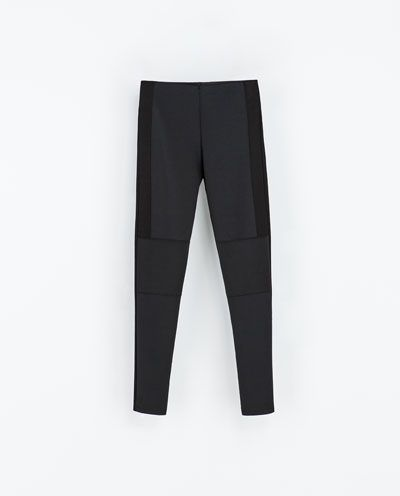 These Zara leggings are perfect for a comfy day or night in but they're also dressy enough if you need to go out and brave the cold