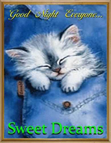 ☆Have a good night sleep sister.God bless you and yours, sweet dreams. xxx ☆